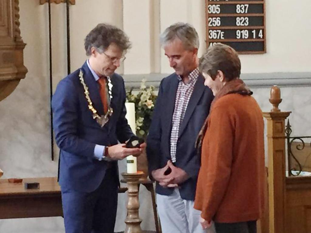 Uitreiking eerste Abel Tasman Erepenning