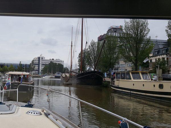 Varen door Leeuwarden